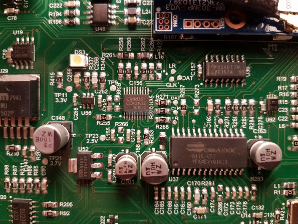 McIntosh MB50 hálózati audio lejátszó belső