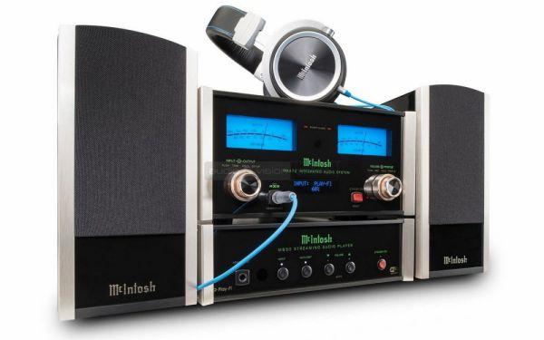 McIntosh MB50 hálózati audio lejátszó és MXA70 valamint MHP1000