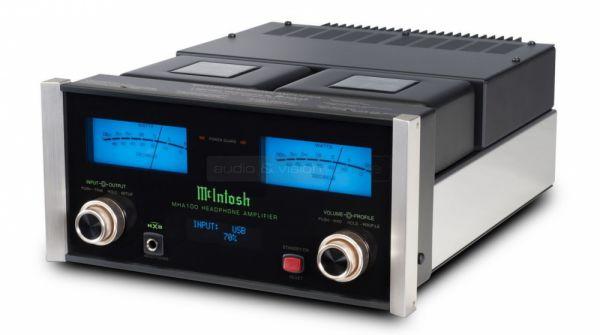 McIntosh MHA100 fejhallgató erősítő