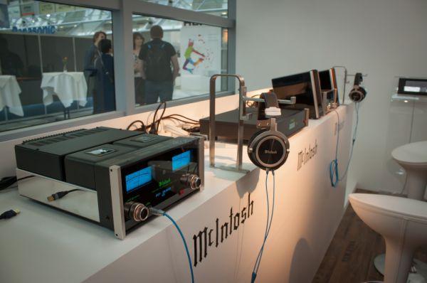 McIntosh MHP1000 high end fejhallgató a HIGH END 2014 kiállításon