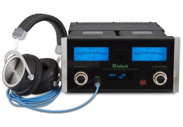 McIntosh MHP1000 high end fejhallgató és MHA100 fejhallgató erősítő