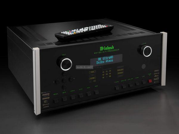 McIntosh MX123A 8K házimozi processzor
