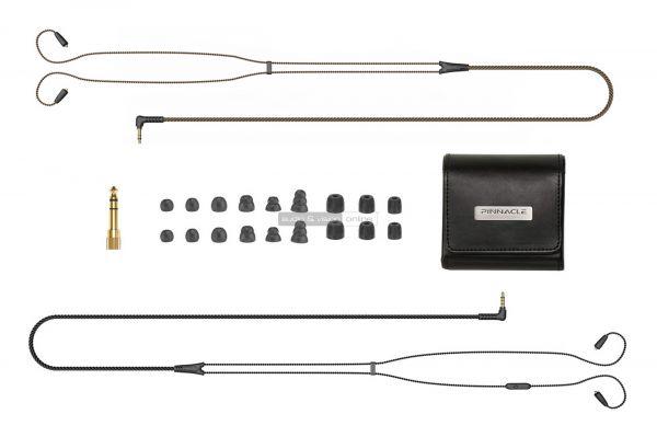 MEE Audio Pinnacle P1 fülhallgató tartozékok