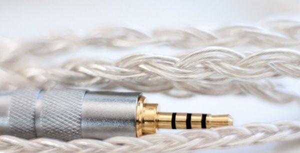Meze 7N OCC fejhallgató kábel