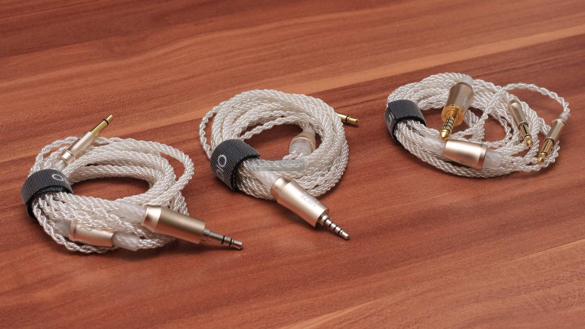 Meze 99 Series fejhallgató kábel teszt