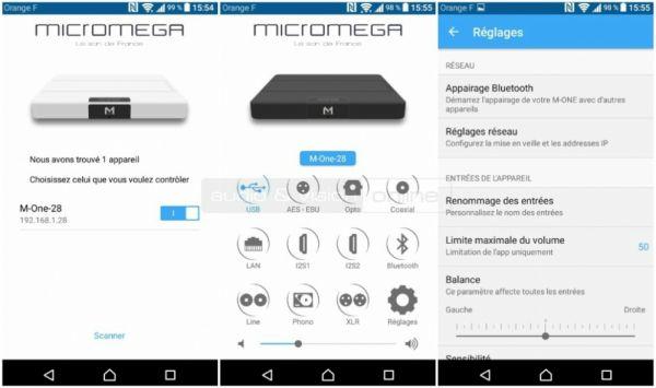 Micromega M-One App