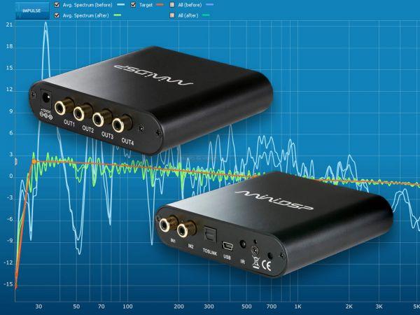 miniDSP DDRC-24 szobaakusztika korrekció