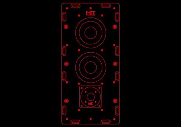 MK Sound IW falbaépíthető hangfalak