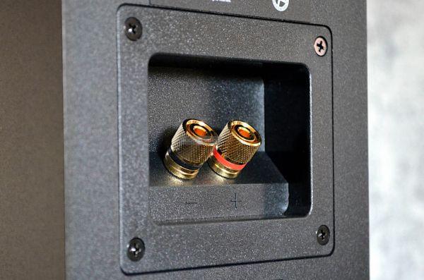 MK Sound Movie 5.1 házimozi hangfalszett K50 hangfal csatlakozó