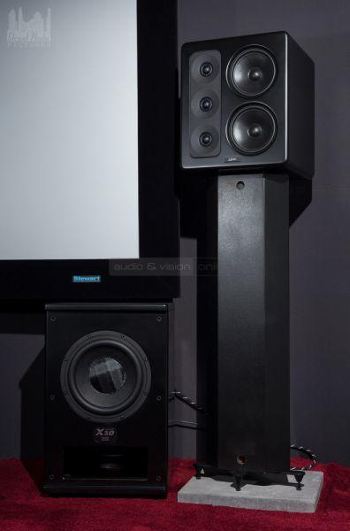 MK Sound S300 hangfal és X10 Push-Pull aktív mélyláda