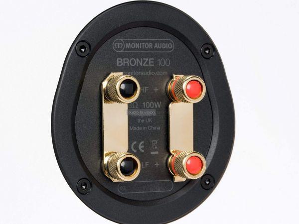 Monitor Audio Bronze 100 hangfal csatlakozó