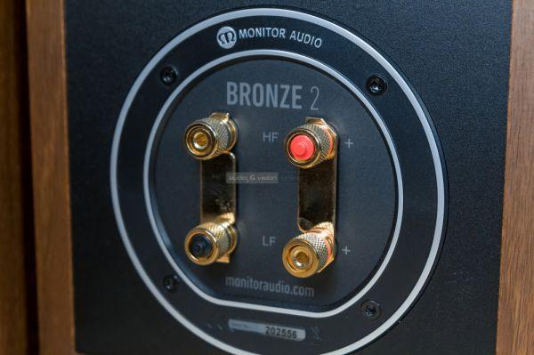 Monitor Audio Bronze 2 hangfal csatlakozó