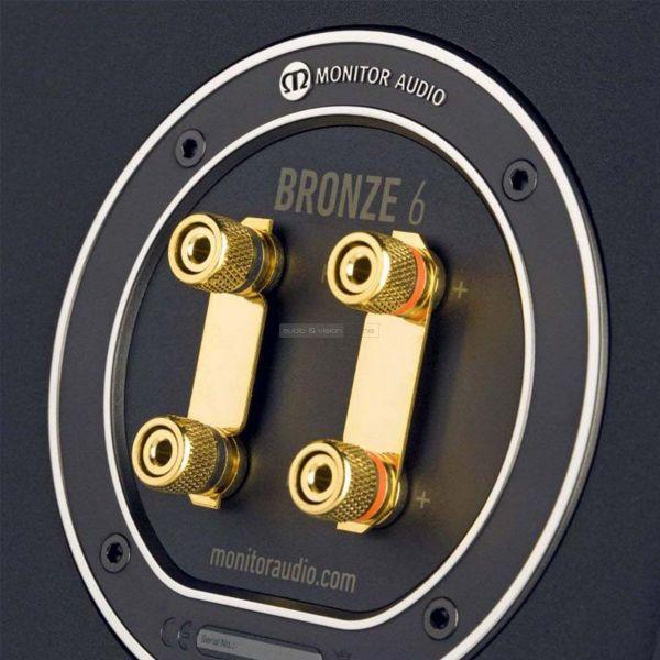 Monitor Audio Bronze 6 hangfal csatlakozó