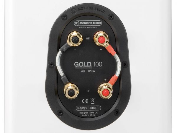 Monitor Audio Gold 100 hangfal csatlakozó