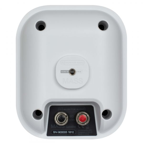 Monitor Audio MASS 5.1 Satellite hangfal hátlap