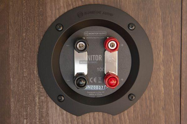 Monitor Audio Monitor 100 hangfal csatlakozó