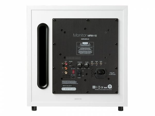 Monitor Audio Monitor MRW10 aktív mélyláda hátlap