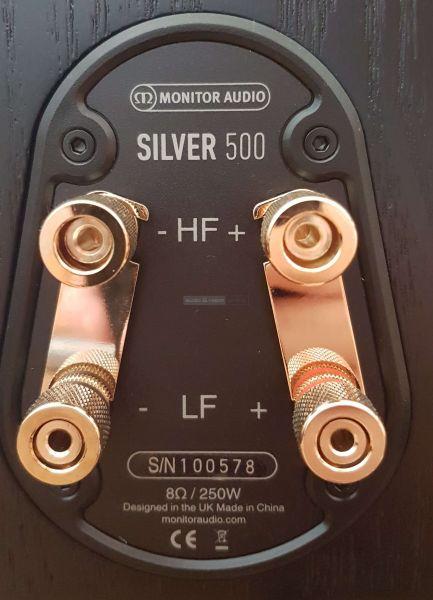 Monitor Audio Silver 500 hangfal csatlakozó