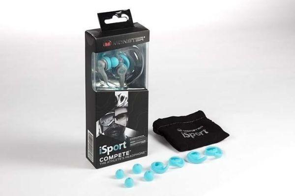 Monster iSport Compete sportfülhallgató doboz
