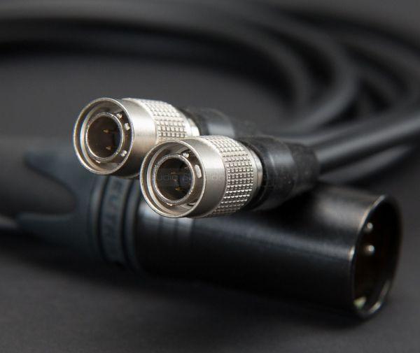 MrSpeakers Alpha Dog hifi fejhallgató XLR kábel