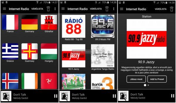 Musaic MPL zónajátszó App - Android