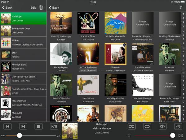 Musaic MPL zónajátszó App - iPad Mini