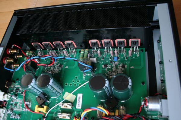 Musical Fidelity M5si integrált sztereó erősítő belső