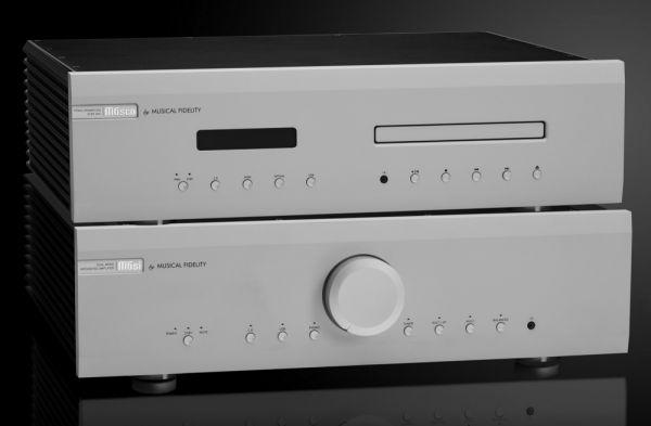Musical Fidelity M6si sztereó erősítő és M6scd CD-lejátszó