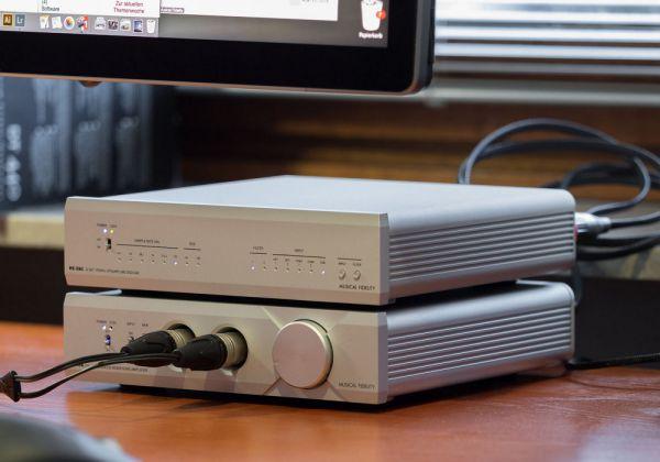 Musical Fidelity MX-HPA fejhallgató erősítő és MX-DAC DA konverter