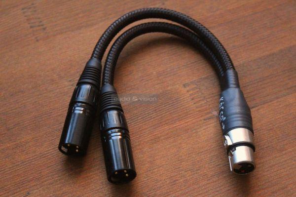 Musical Fidelity MX-HPA fejhallgató erősítő XLR adapter kábel