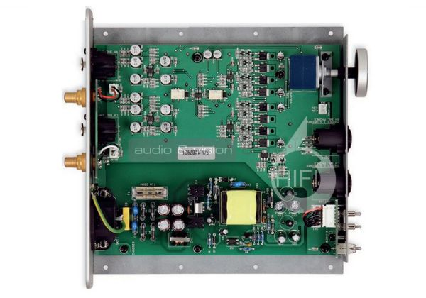 Musical Fidelity MX-HPA fejhallgató erősítő belső