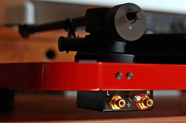 Musical Fidelity Roundtable S vinyl lemezjátszó hátlap