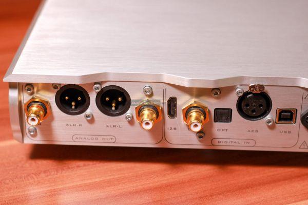 Musician Pegasus R2R DAC hátlap