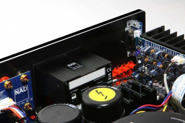 NAD C 375BEE integrált sztereó erősítő DAC modullal