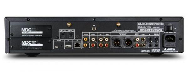 NAD C 658 hálózati zenelejátszó hátlap