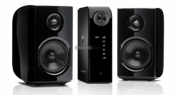 NAD D 8020 hangfal és NAD D 3020 erősítő