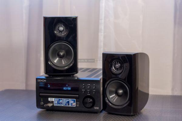NAD D 8020 hangfal és Denon RCD-M40 mikro hifi