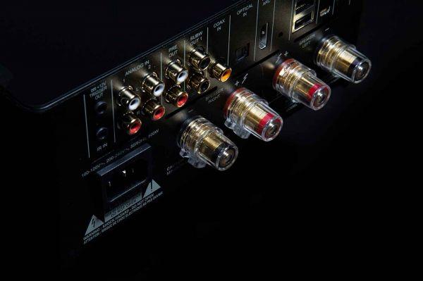 NAD M10 all in one hifi rendszer hátlap