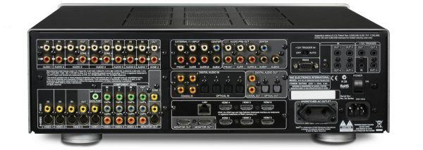 NAD M15 HD2 AV házimozi processzor hátlap MDC upgrade-el