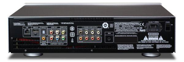 NAD M56 Blu-ray lejátszó hátlap