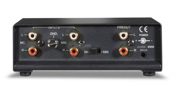 NAD PP 2e phono előerősítő hátlap