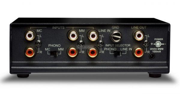 NAD PP 4 phono előerősítő hátlap