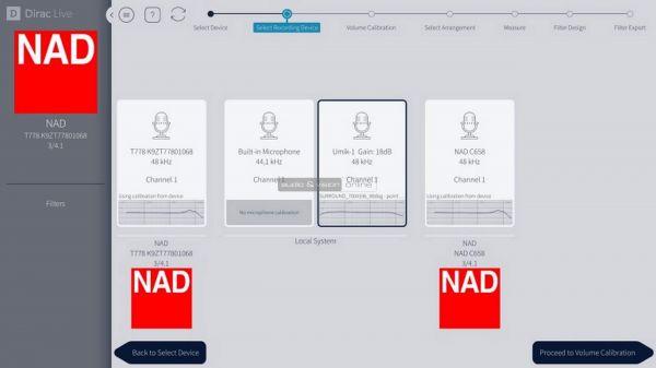 NAD T 778 házimozi erősítő Dirac Live