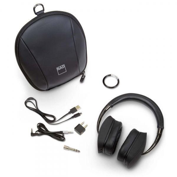 NAD VISO HP70 aktív zajzáras Bluetooth fejhallgató tartozékok