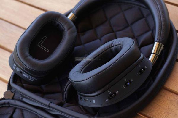 NAD VISO HP70 aktív zajzáras Bluetooth fejhallgató tok