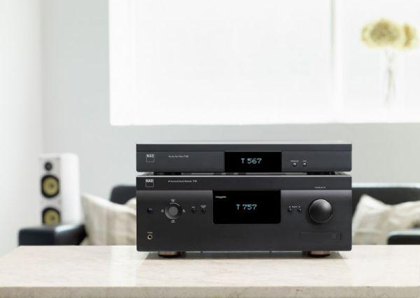 NAD T 757 házimozi erősítő és T 567 Blu-ray lejátszó