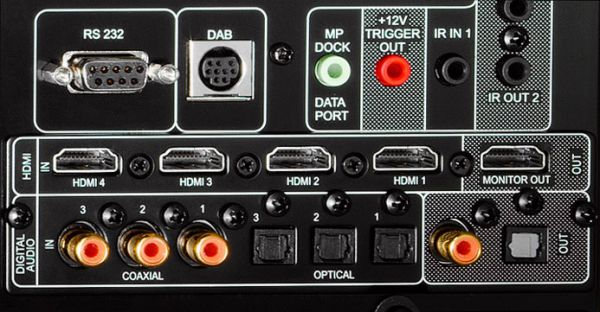 NAD T 757 digitális szekció