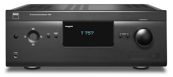 NAD T 757 front