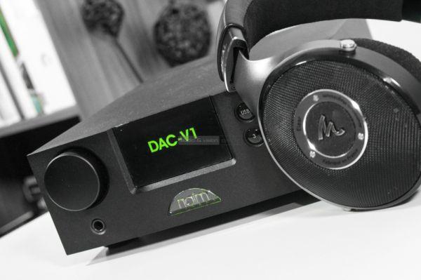 NAIM DAC-V1 fejhallgató erősítő
