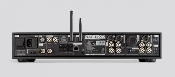 Naim NAC-N 272 hálózati médialejátszó hátlap